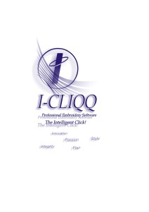 I-Cliqq Embroidery Software V1.0 Manual Version 1.0 Manual