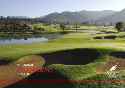 Sri Lankan Airlines DRAFT Thailand GOLF Holidays Brochure ONE
