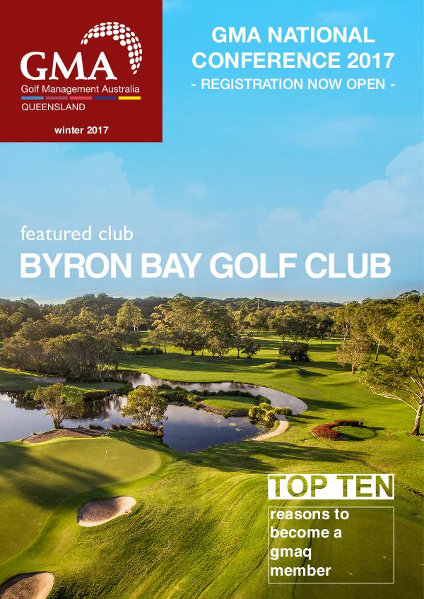 GMAQ - Golf Management Australia Queensland Winter 2017