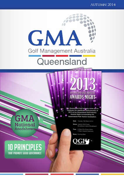 GMAQ - Golf Management Australia Queensland Autumn 2014