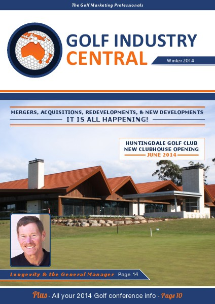 Golf Industry Central Winter 2014