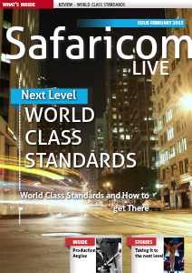 SAFARICOM LIVE - WORLD CLASS STANDARDS 1.0
