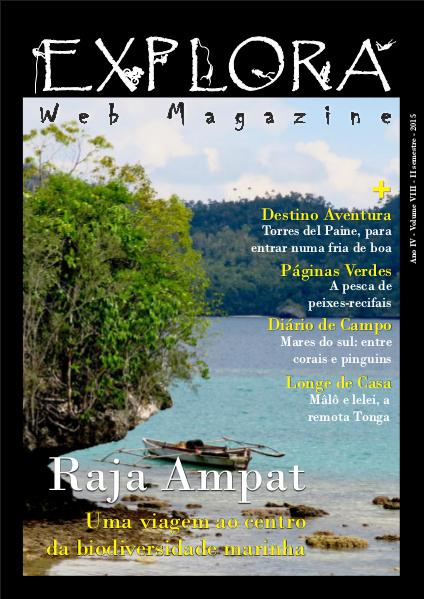 Explora Web Magazine Volume VIII