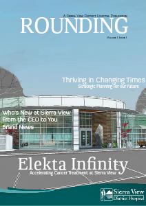 Rounding Volume I, Issue I