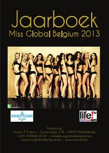 Miss Global Belgium Jaarboek 2013