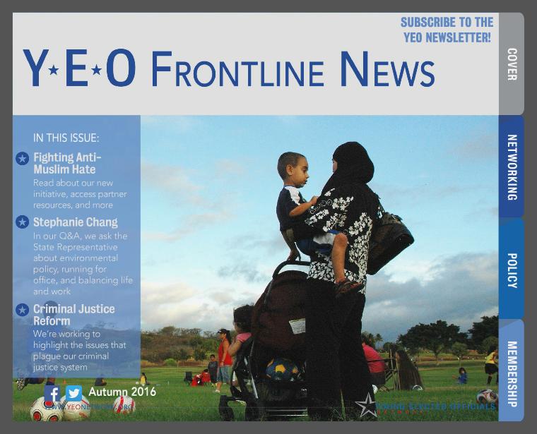 YEO Frontline News 3rd Quarter, 2016