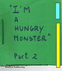I'm a hungry monster