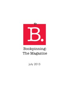 BookPinning: The Magazine July 2013