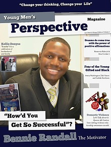 Young Men's Perspective Magazine vol 1 winter edition