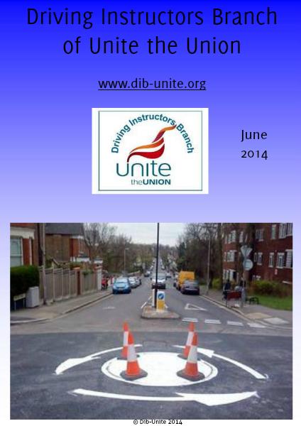 Driving Instructors Branch of Unite the Union June 2014