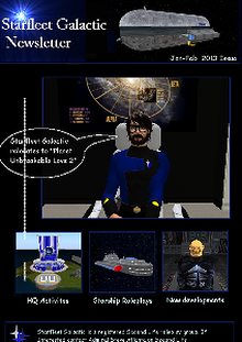 Starfleet Galactic Newsletter