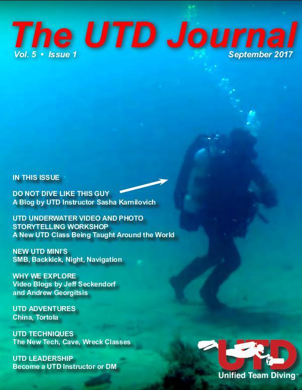 UTD Journal Volume 5 Issue 1, September 2017