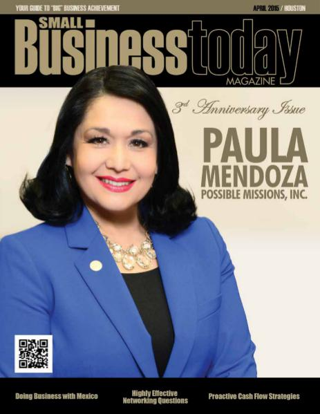 Small Business Today Magazine APR 2015 POSSIBLE MISSIONS