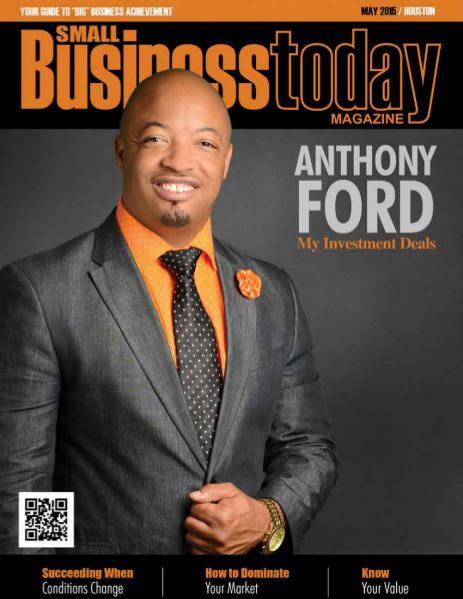 Small Business Today Magazine MAY 2015 MY INVESTMENT DEAL