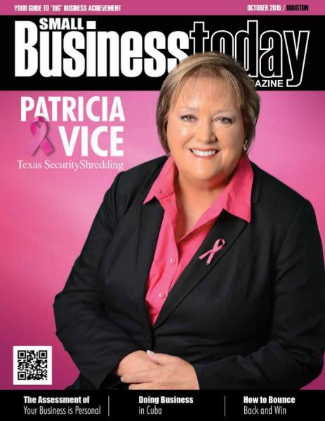Small Business Today Magazine OCT 2015 TEXAS SECURITY SHREDDING