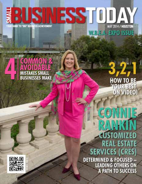 Small Business Today Magazine MAY 2014 CUSTOMIZED REAL STATE SERVICES