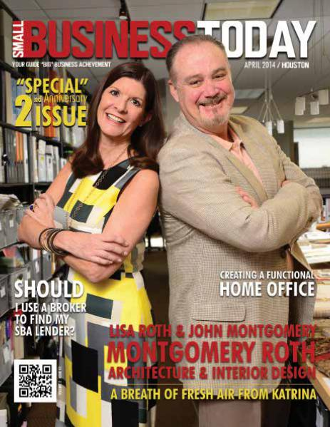 Small Business Today Magazine APR 2014 MONTGOMERY ROTH