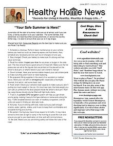 Healthy Home Newsletter