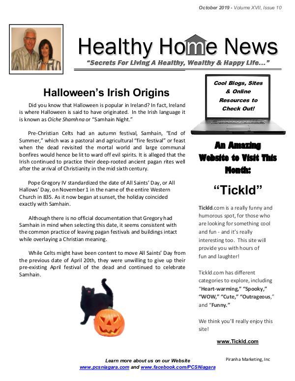 October Volume XVII Issue 10