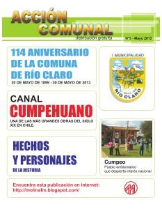 ACCION COMUNAL Mayo 2013