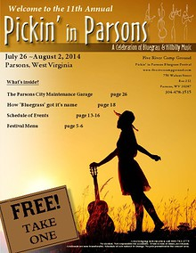 2014 Pickin' in Parsons Bluegrass Festival