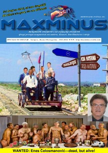 MaxMinus broj 20 15.1.2012. Specijalno izdanje MaxMinus magazina..