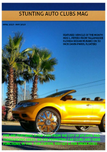 STUNTING AUTOMOTIVE CLUBS Volume 17