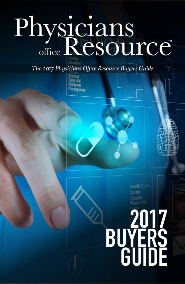 Physicians Office Resource Buyers Guide 2017