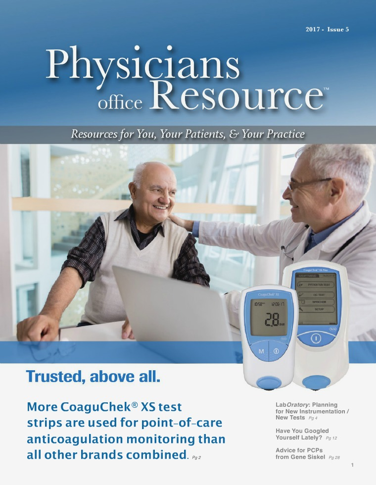 Physicians Office Resource Volume 11 Issue 5