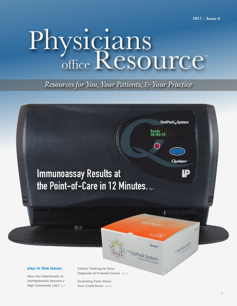 Physicians Office Resource Volume 11 Issue 6