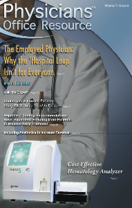 Physicians Office Resource Volume 7 Issue 09