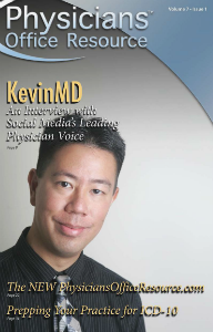 Physicians Office Resource Volume 7 Issue 01