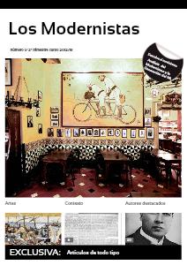 """Revista """"Los Modernistas"""" 1"""