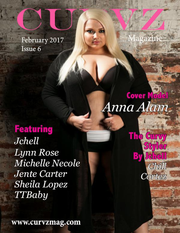 Curvz Magazine February 2017 Issue 6 6