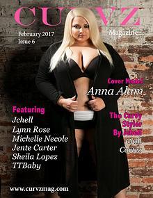 Curvz Magazine February 2017 Issue 6