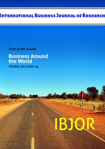 International Business Journal of Research Volume 30 (Dec 31, 2012)