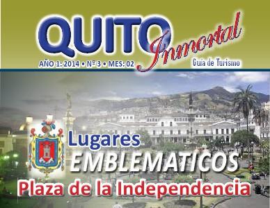 Quito Inmortal - Guía de Turismo Nro. 3