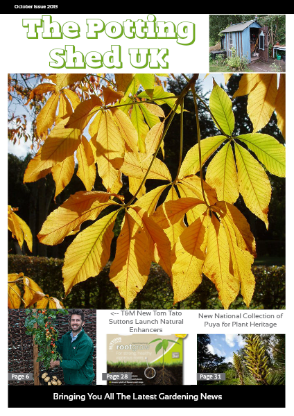 THE POTTING SHED UK October Issue