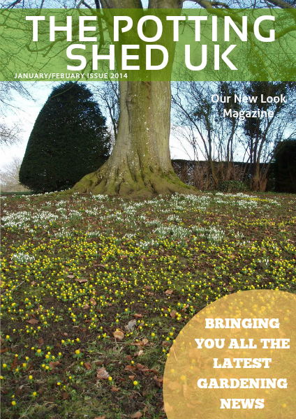 THE POTTING SHED UK Jan/Feb Issue 2014