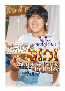 DIDI's 16th Surprise Birthday Party