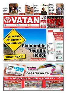 Yeni Vatan weekly Turkish Newspaper