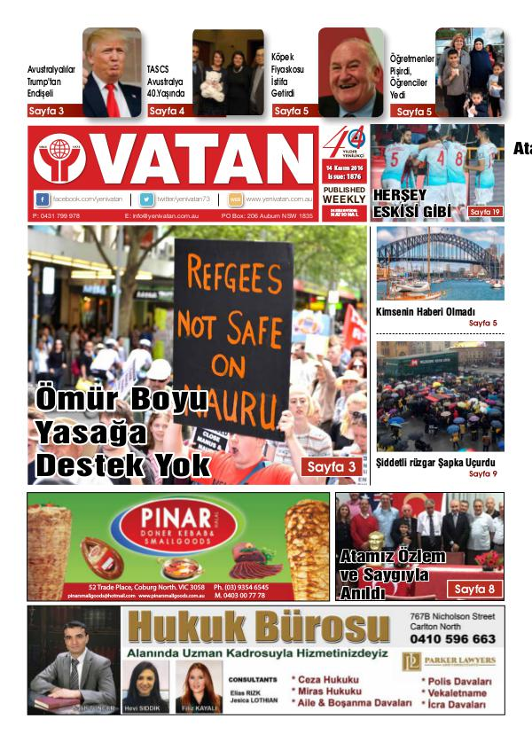 November 2016 Issue 1876