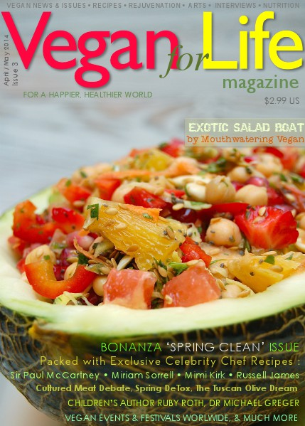Vegan for Life Issue 3 April / May 2014
