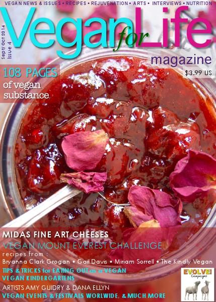 Vegan for Life Issue 4 September / October 2014