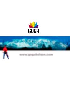Proyecto Goga - Presentación Acción Federal Proyecto Goga