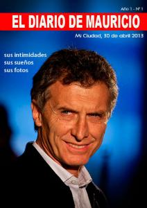 El Diario de Mauricio Número 1 - 30 de abril 2013