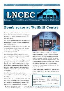 Ligoniel Newsletter and Community Events Calendar