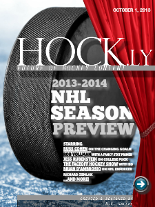 HOCK.ly - Future of Hockey Content 2013-2014 Season Preview