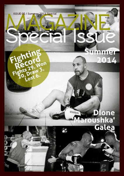 Malta's Boxing Magazine Issue 5 Summer Special Edition - Dione Galea