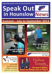 Speak Out in Hounslow News Jul-Sep 2013